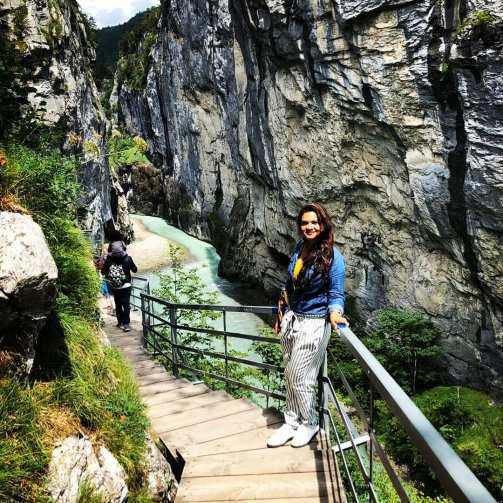 Aare gorge, Switzerland